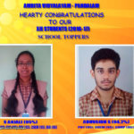 TOPPERS OF CLASS XII (2016-17)